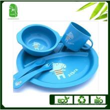 Vaisselle pour enfants en fibre de bambou de haute qualité (BC-BB-SU2003)