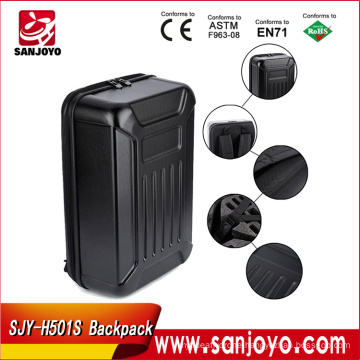 Black ABS Hard Shell Backpack Case Bag for Hubsan X4 H501S Quadcopter Box hard shell bag Standard/High Version