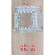 Cenicero de vidrio con buen precio Kb-Hn07673
