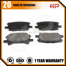 Pièces de voiture Plaquettes de frein pour Toyota RX330 ACU30 MCU30 04466-48040