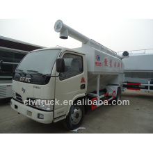 mini 4x2 Dongfeng bulk feed discharge truck sales in Turkey