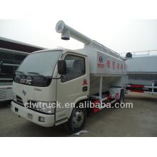 Mini 4x2 Dongfeng bulk vendas de caminhão de descarga de alimentação na Turquia