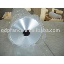 Feuille d'aluminium pour emballage flexible en gros rouleaux