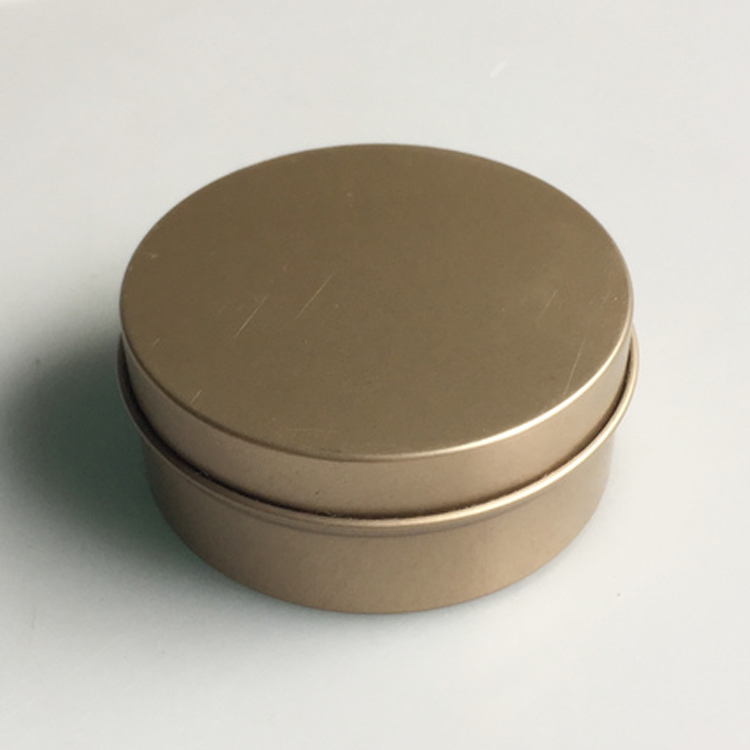 Mini Round Tin Box For Candle Packaging