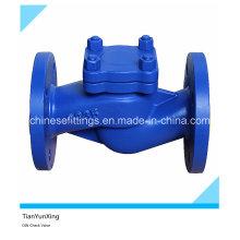 Válvula de retenção de flange de elevação de ferro fundido DIN H41h