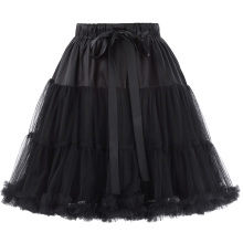 Роскошные Белль некоторые из них имеют женских 3 слоя мягкого Фатина сетки Кринолин Нижняя юбка Подъюбник для Ретро платья BP000226-1