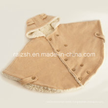 Thick Sherpa Autumn and Winter Baby Cloak of Children