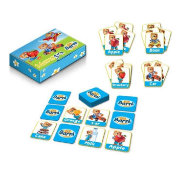 kids teaching handheld educational memory card MEMO GAME
