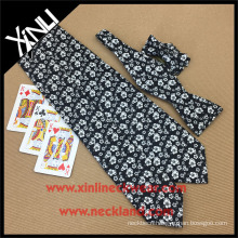 Handmade 100% Silk Floral Tie Printed