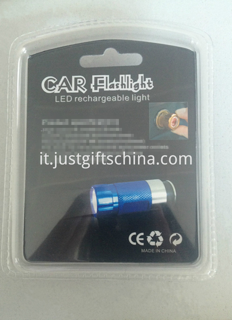 Personalized Aluminum Car Flashlight