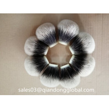 Bulbo Shape Two Band Badger Hair Knots