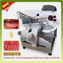 Modelo de tabla congelado / enfriado carne de cordero Carne de corte de carne cortadora rebanadora de corte