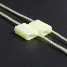 Gewebte benutzerdefinierte Hängeetiketten mit elastischer Schnur
