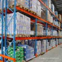Rack de stockage de palettes d'entrepôt de systèmes de centre de distribution