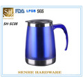 Personalized Stainless Steel Pink Travel Mugs Rhinestones (SH-SC08)