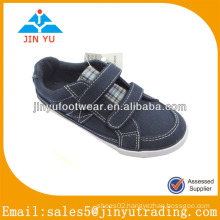 Leisure blue children canvas shoes