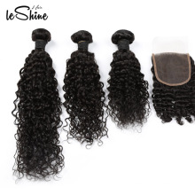 FREE SHIPPING Curly Unprocessed Brazilian 100% Virgin Human Hair Extension