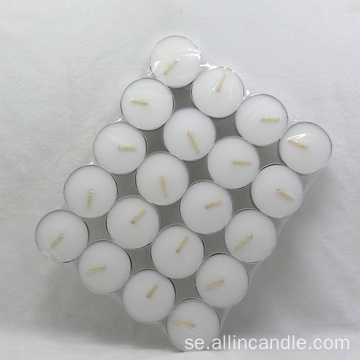 Tealight Candles White Unscented 100st Packaging