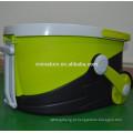 Spin Wring Cozinha Espanador 1000rpm Telescópico Mop com Microfibra Pano