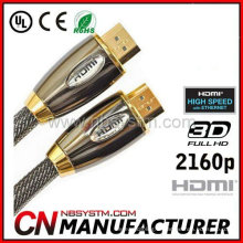 Fil de câble HDMI pour HDTV, Home Theater, lecteur DVD, projecteur, PS3, Xbox360 et autres périphériques HDMI