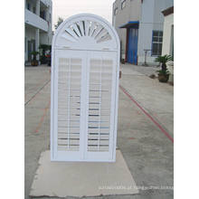 Basswood Real Wooden Shutters (SGD-S-7557)