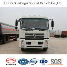 10-12cbm Dongfeng Euro 4 arrière chargeant le camion de compacteur de déchets 4X2