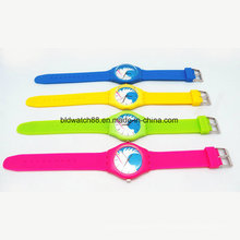 La promoción Girls and Boys Fashion Silicone Watches Waterproof