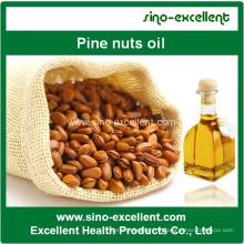 Huile de noix de pin pure à l'huile organique naturelle