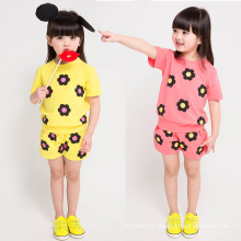 Wholesale Girls Clothing High Quality Lovely Girls Suits for Summer