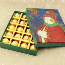 Christmas Snowman Gift Packaging Caja de bombones