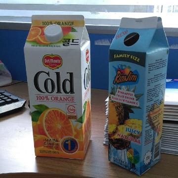 Sterilverpackung für Milch / Saft