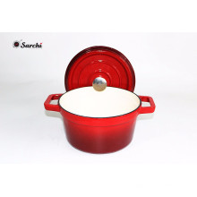 Hot Sale 4QT Cast Iron Cookware Casserole