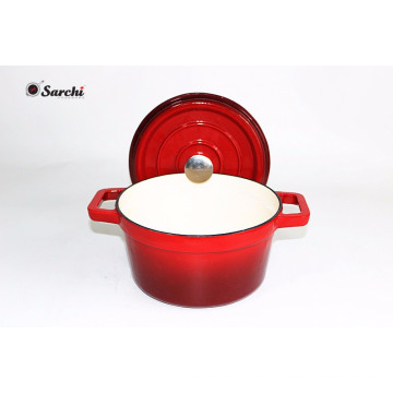 6.5qt Cast Iron Dutch Oven Casserole