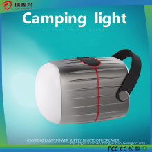 Camping Lantern with Power Bank and Bluetooth Speaker
