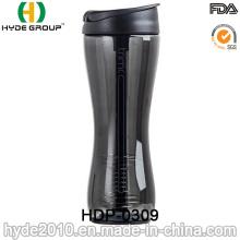 Botella plástica de la coctelera de la Navidad para la proteína (HDP-0309)