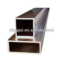 Aluminium alloy 7020 rectangular pipes/tubes