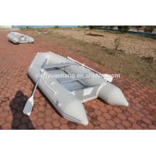 2015 (CE) alto-tubo PVC material goma inflable lanchas para la venta