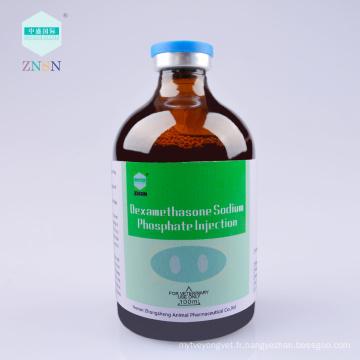 Vente chaude Médicaments vétérinaires Dexamethasone Sodium Phosphate Injection
