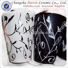 Pot fleur extérieure fleur grande / céramique vitrée / pot de pot céramique peintures