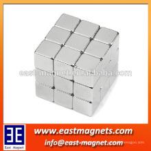Imán del cubo del neodimio N42