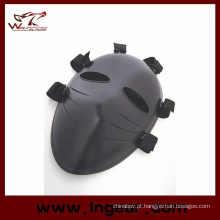 Máscara de Airsoft assassino tático facial Goggle máscara