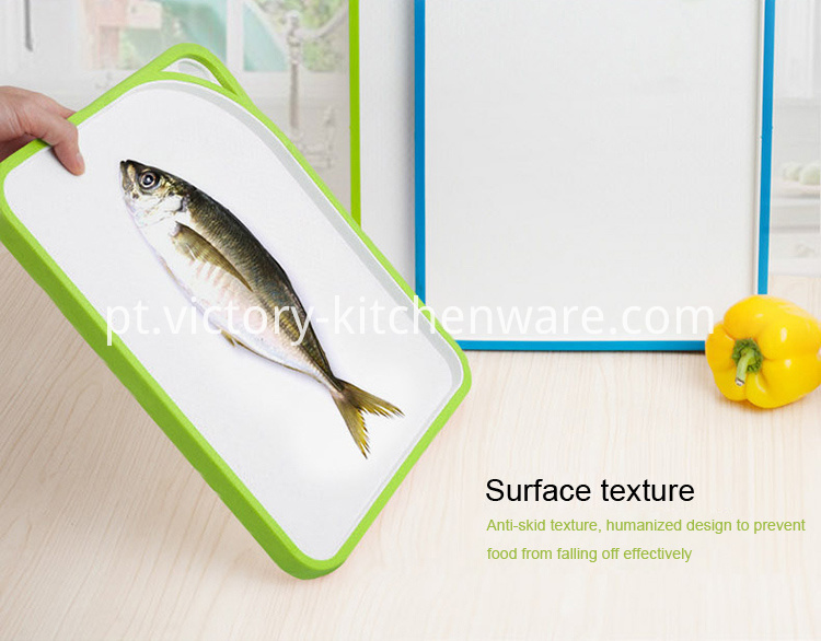 double side plastic cutting board