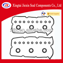 Hot rubber valve gasket