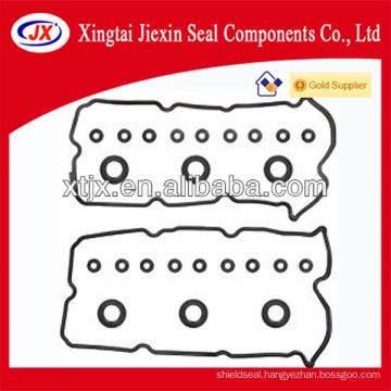 Hot rubber valve gasket