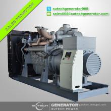 750kva diesel generator set price powered by original Perkin engine 4006-23TAG2A