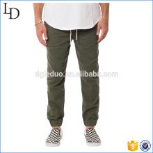 Stretch twill cargo pants for men cotton lined sport trousers&pants