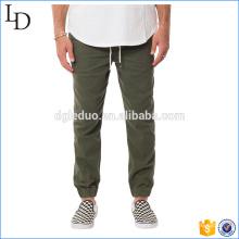 Esticar calças de sarja de carga para homens algodão forrado calças esportivas e calças