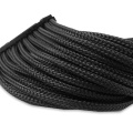 Black Pet Expandable Braided Wire Insulating Sleeve