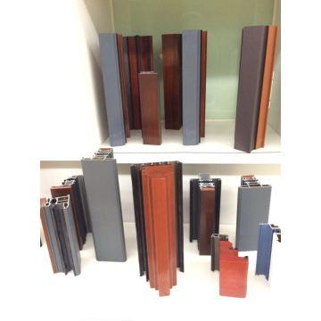 Aluminum And Wood Profile