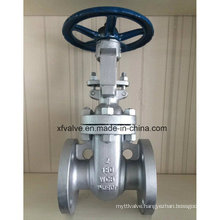 150lb Carbon Steel Wcb Flange End Hand Wheel Gate Valve